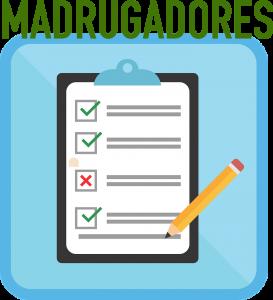 MADRUGADORES formulario icono