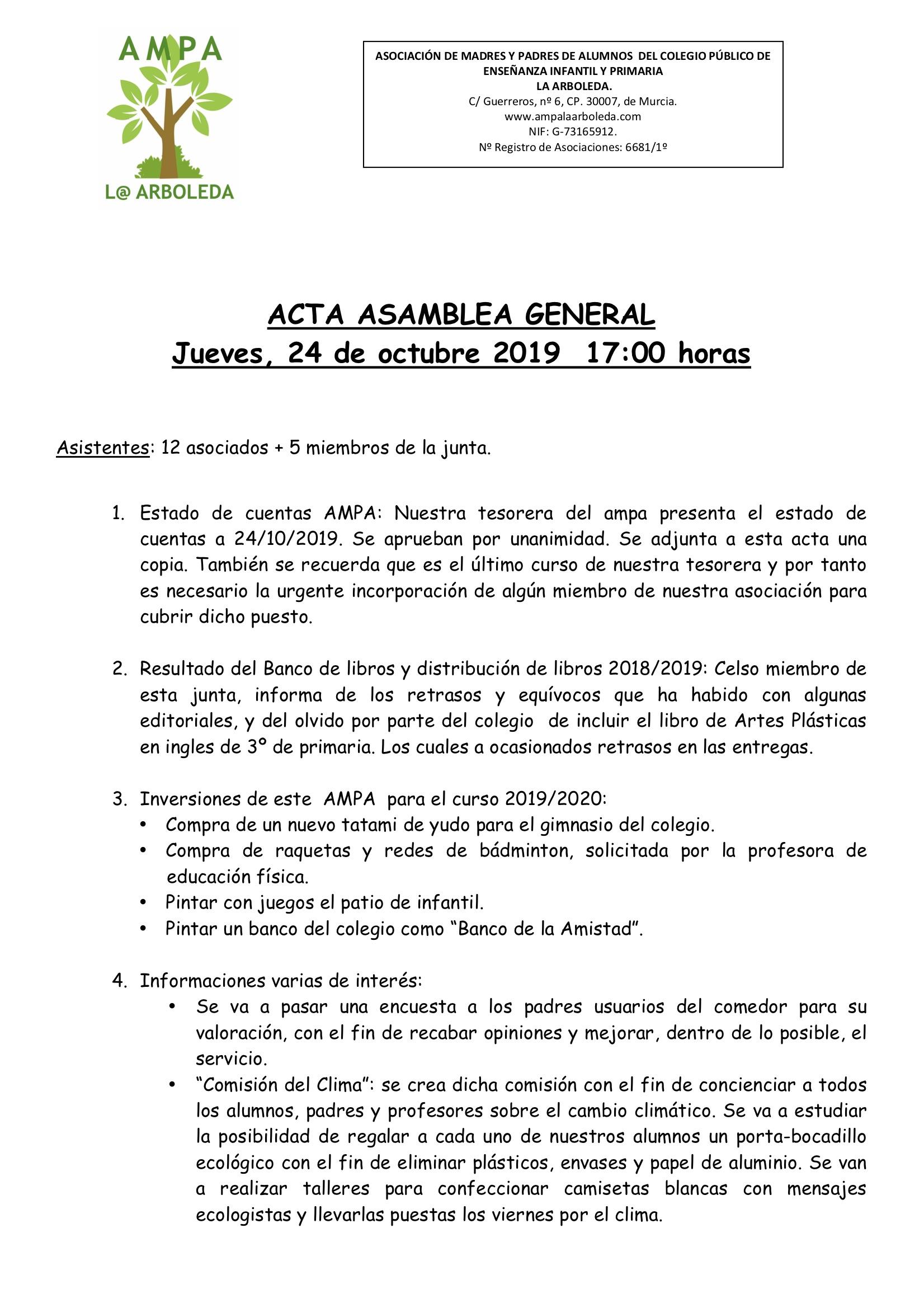 Acta ASAMBLEA 24 octubre 2019 - 1