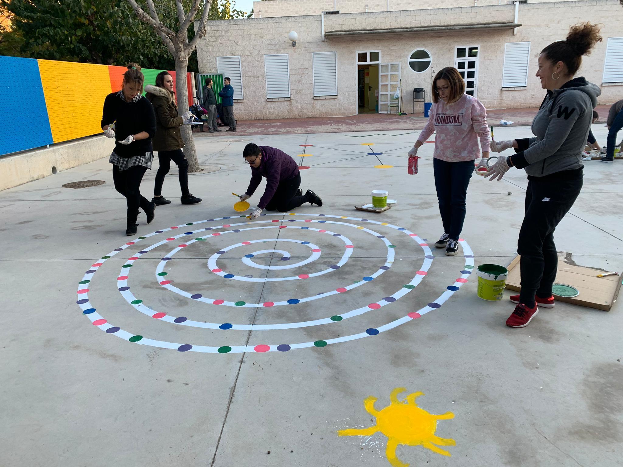pintura patio infantil 2 - La Arboleda